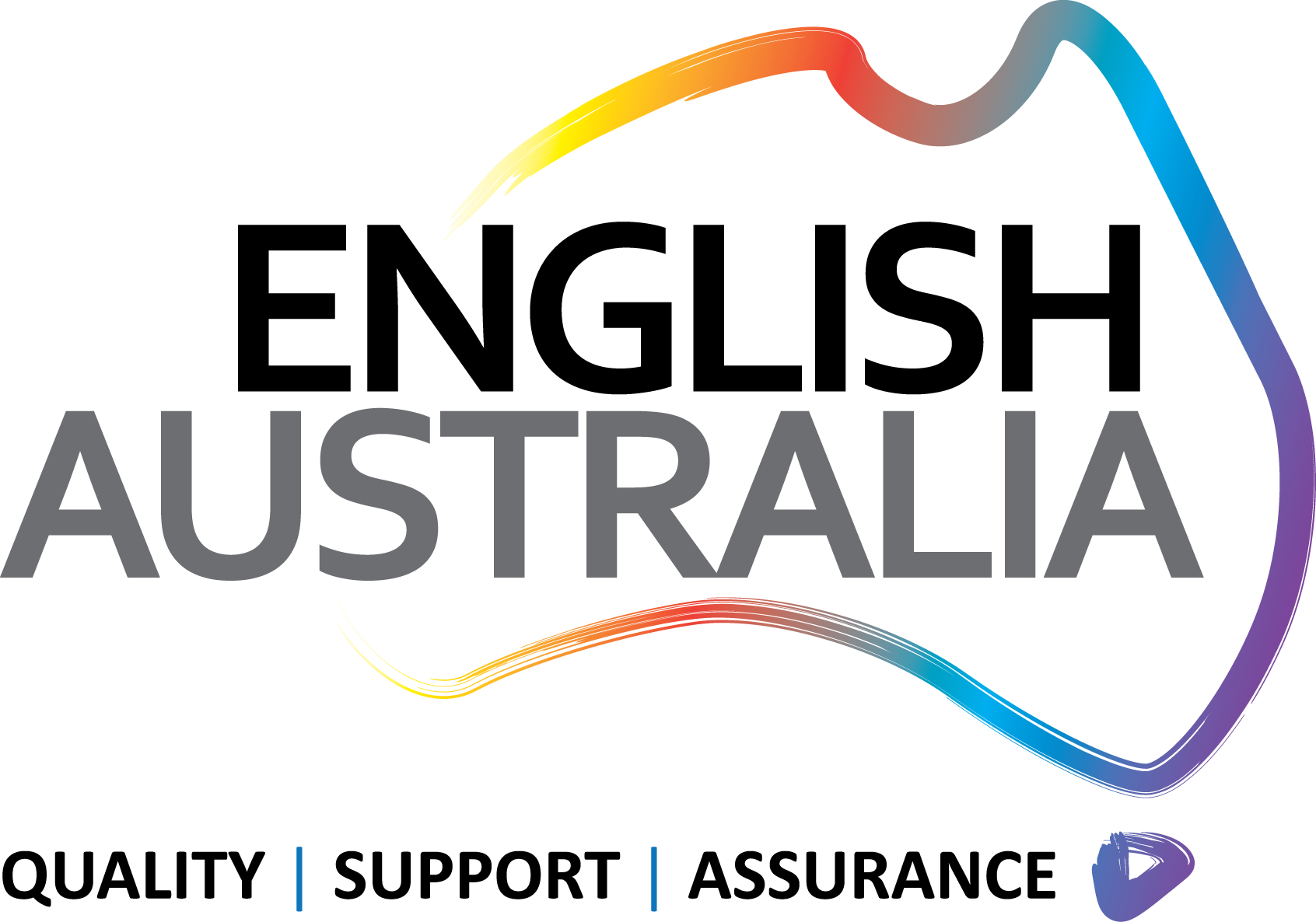 Universal English College logo